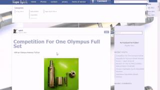 Lottery for one olympus atomizer rba full set 13/7/2013