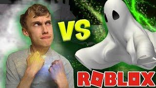 IN MIJN EENTJE TEGEN MEGA SPOOK! (Roblox Ghost Simulator)