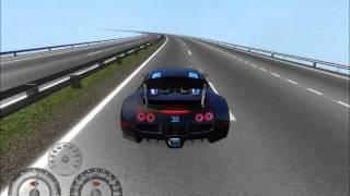 Racer Free Car Simulator - Bugatti Veyron 16-4 @ Mont Autobahn ...