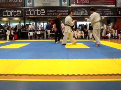 serge cavrois kicks great KO Brabant Cup 2010
