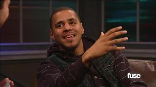 J.Cole Talks About Debuting At #1 | Hoppus On Music