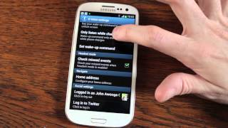 Samsung Galaxy S3 Tips - Lock Screen Motion Control S Voice and more