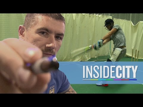 INSIDE CITY 128 | Joe Hart cricket masterclass