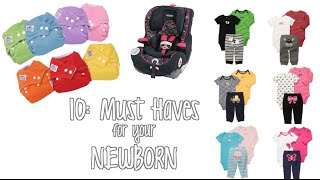 Only 10 items you need for a Newborn