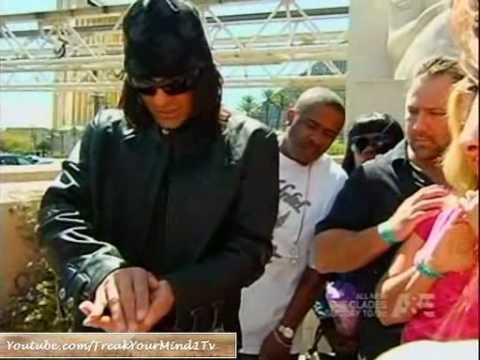 Criss Angel MindFreak Season 6 - see a scorpion in the mouth of spectator