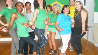 Samba Class with Patricia Reis @ Club Azucar Samba Fitness