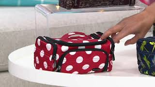 Lug Cosmetic Case - Trolley and Trolley Mini on QVC