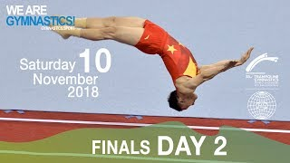33rd Trampoline Worlds - Day 3 - Finals