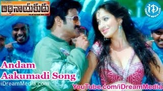 Adhinayakudu - Adhinayakudu Movie Songs - Andam Aakumadi Song - Balakrishna - Lakshmi Rai - Saloni