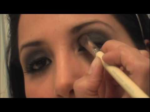 Como hacer un look ahumado (smokey eye) - how to do smokey eye makeup