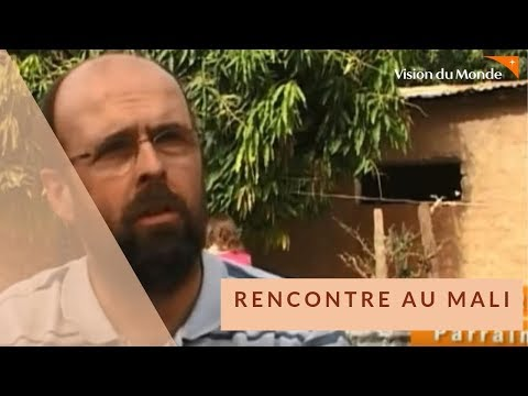 Visite d'un parrain de Vision du Monde au Mali