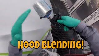 Blending Hood Tesla Auto