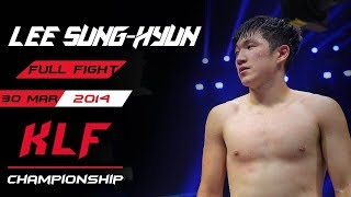 Kickboxing: Lee Sung-Hyun vs. Meng Guodong FULL FIGHT-2014