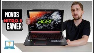 Novos Notebooks Acer Nitro 5 Gamer com SSD e opções Linux Endless OS