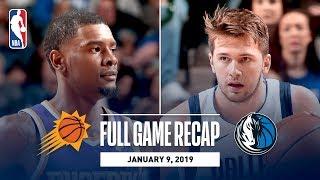 Full Game Recap: Suns vs Mavericks   Luka Doncic Drops 30 Against PHX