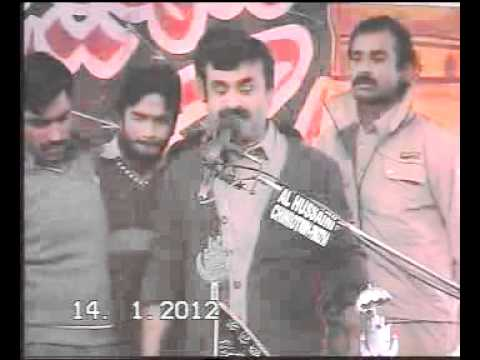 Zakir Qazi Waseem Abbas new Qasida 2012 video