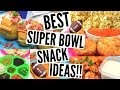 DIY SUPER BOWL PARTY SNACKS | Quick, Easy & Affordable Snack Ideas!!
