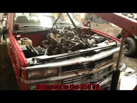 1998 Chevy C1500 4.3L to 5.7 Upgrade! (Build up vid)
