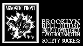 Watch Agnostic Front Society Suckers video