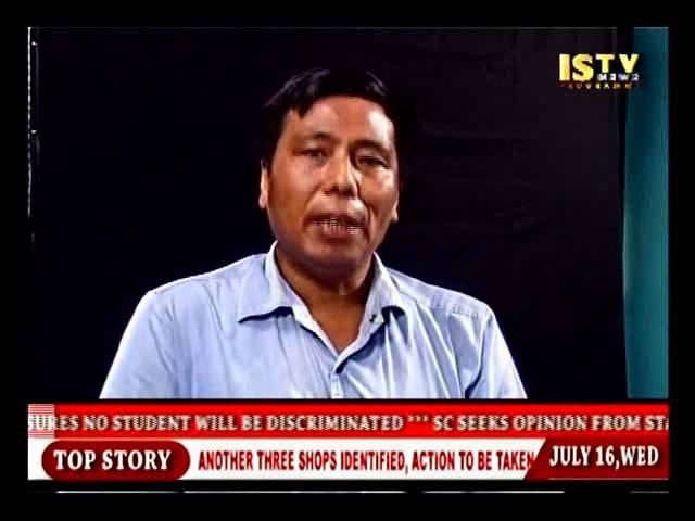 16th.July 2014 ISTV English news