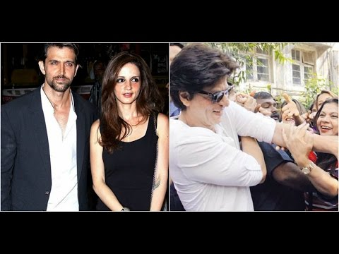 Hrithik Celebrates Birthday With Sussanne & 'Kaabil' Cast   Shahrukh Fans Go Crazy At An Event