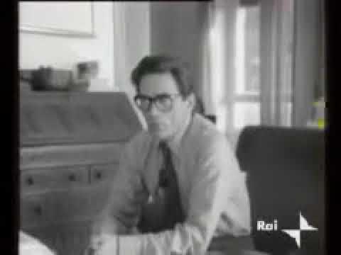PIER PAOLO PASOLINI -ISTINTIVO ODIO PER LO STATO