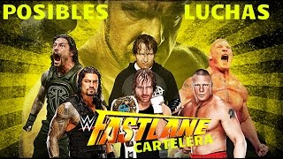 Cartelera Para Fastlane 2016 | Posibles Luchas | Road To WrestleMania.