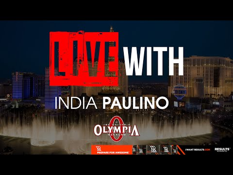 LIVE WITH INDIA PAULINO!  (Powered by Results Nutrition) | RX TelevisionE