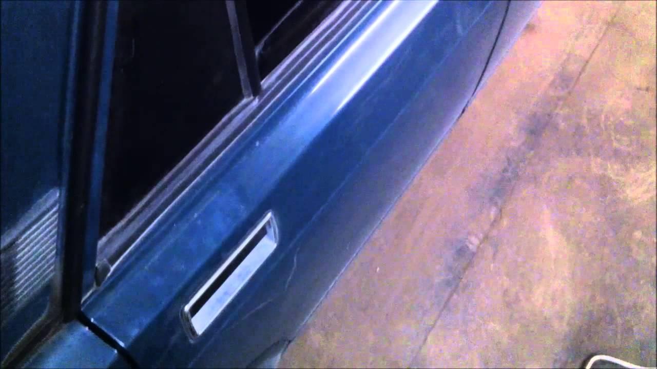 Как сделать чтобы дверь на ваз 2107 закрывалась мягче 914