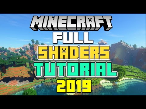 How to install Shaders for Minecraft! (WORKING 2018)