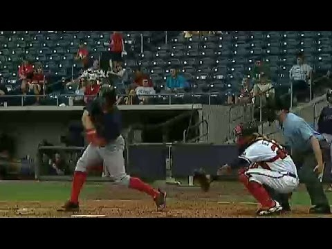 PawSox's Cecchini doubles in a run