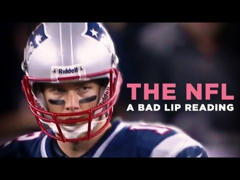 """THE NFL : A Bad Lip Reading"" — A Bad Lip Reading of the NFL"