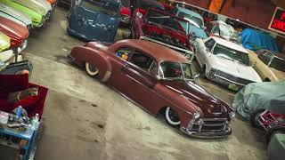 For Sale Bagged, Air Ride 52 Chevy Coupe, Patina Rat Rod,