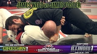 FIVE Grappling Oregon 1: James Weed vs James Foster (Men/Master/Black Belt/Absolute/Semi-Final)