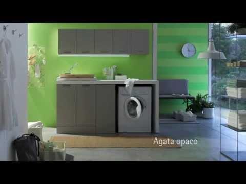 Arcom Mobili Lavanderia e Bagno- W&D  Wash & Dry