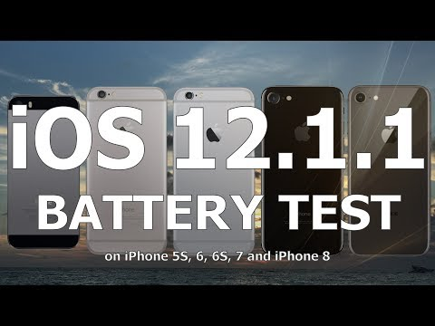 iOS 12.1.1 Battery Life Test : Has it improved over iOS 12.1