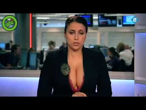 Hot News Reader I Crazy Cleavage On Indonesia Tv Youtube