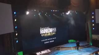 Crowd Reaction to Tom Clancy's Rainbow Six: Quarantine Reveal Trailer | Ubisoft E3 2019