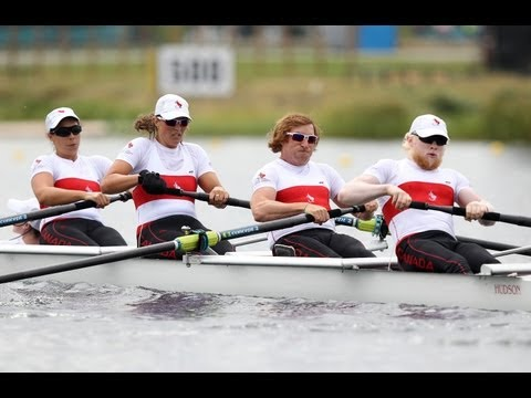 Rowing highlights - London 2012 Paralympic Games