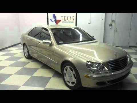 2004 mercedes benz s600 v12 fort worth tx youtube for 2004 mercedes benz s600