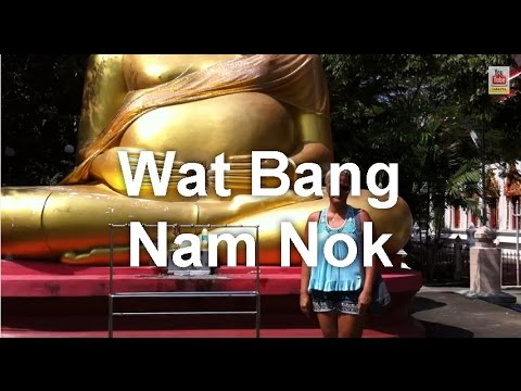 Bangkok's Bang Nam Pheung Floating Market Wat Bang Nam Nok Across the River Part 5