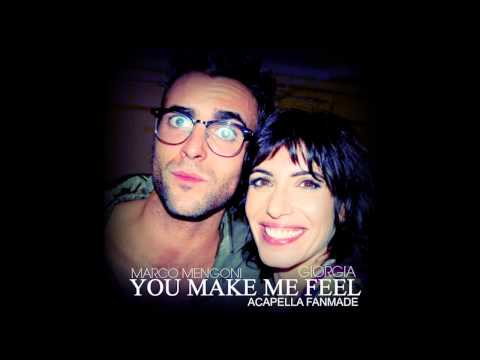 Giorgia feat Marco Mengoni   - You Make Me Feel ( ACAPELLA)...