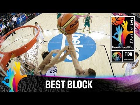 Korea V Australia - Best Block - 2014 Fiba Basketball World Cup video