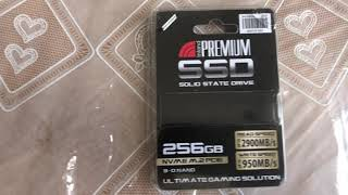 Inland Premium SSD 256gb NVME M.2 PCIE 3.0 x4 Review