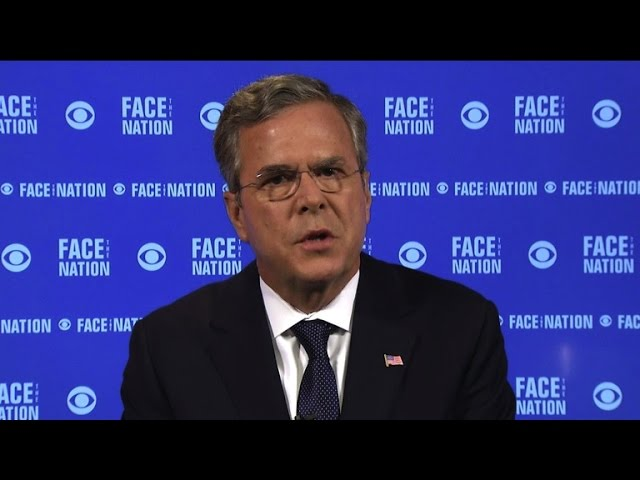 "Jeb Bush: Our ""post-ISIS world"" needs stability"