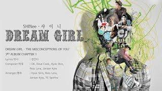 샤이니 (SHINee) - Dream Girl [LYRICS HAN-ROM-ENG]