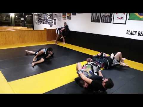 Adult MMA sparring