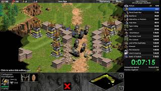 Age of Empires, All-Campaign Speedrun in 6:57.31