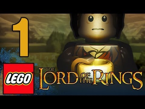 LEGO: Lord of the Rings The Game - Walkthrough Gameplay Part 1 - Prologue (1080p)
