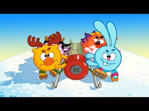 Бобслей-дело принципа - Смешарики 2D | Мультфильмы для детей